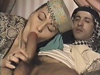 Arab Blowjob Clothed