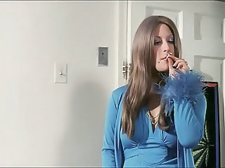 Long Hair MILF Smoking