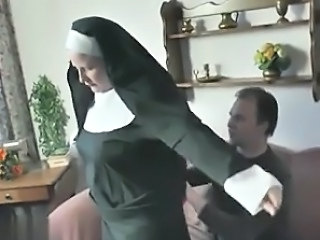 European German Nun