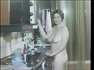 Kitchen MILF Natural