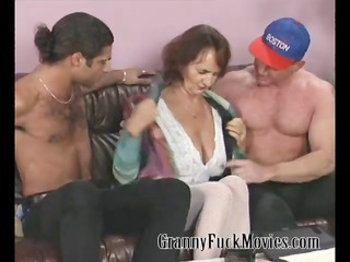 granny with firm milk shakes fucking
