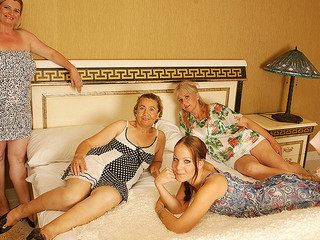 Old And Young Mom Groupsex