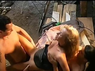 Outdoor Threesome Vintage