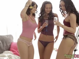 Three Horny Teens