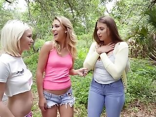 Lesbos Wander The Forest Paths And Then Munch Twats