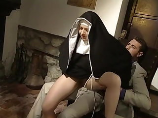 Nun Riding Teen